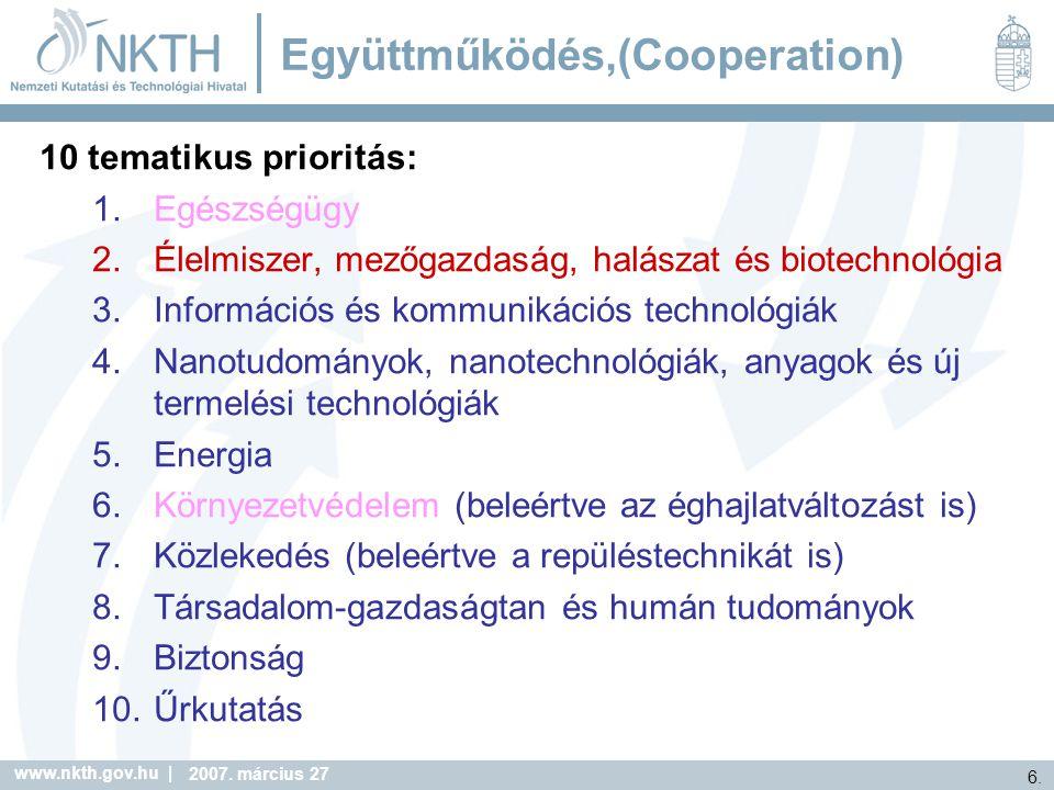 Együttműködés,(Cooperation)
