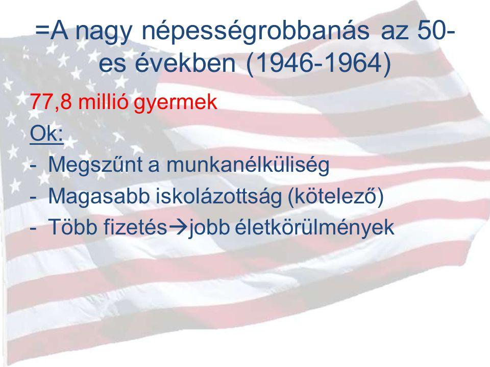 =A nagy népességrobbanás az 50-es években (1946-1964)