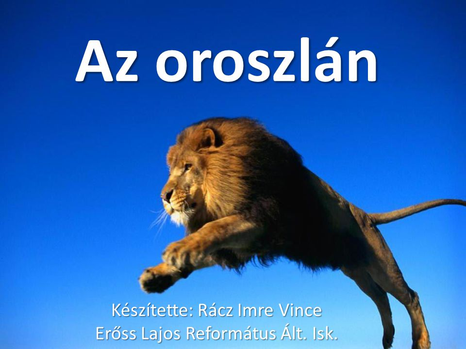 Készítette: Rácz Imre Vince Erőss Lajos Református Ált. Isk.