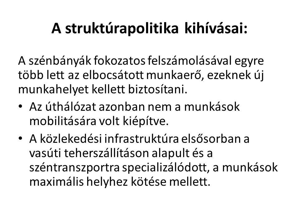 A struktúrapolitika kihívásai: