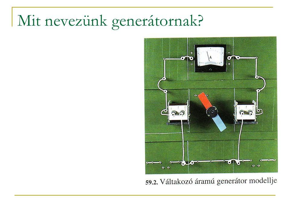 Mit nevezünk generátornak