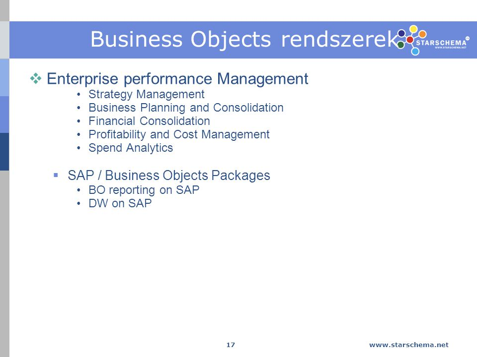 Business Objects rendszerek
