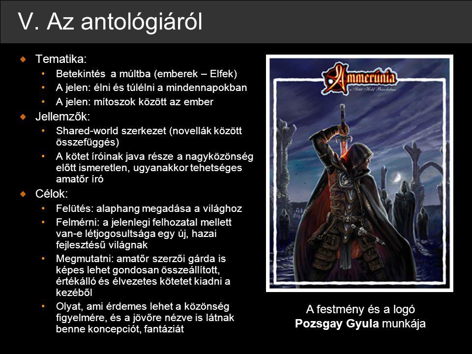 A festmény és a logó Pozsgay Gyula munkája