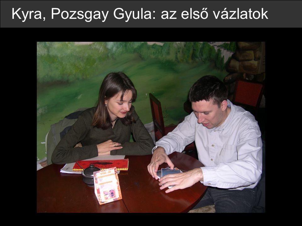 Kyra, Pozsgay Gyula: az első vázlatok