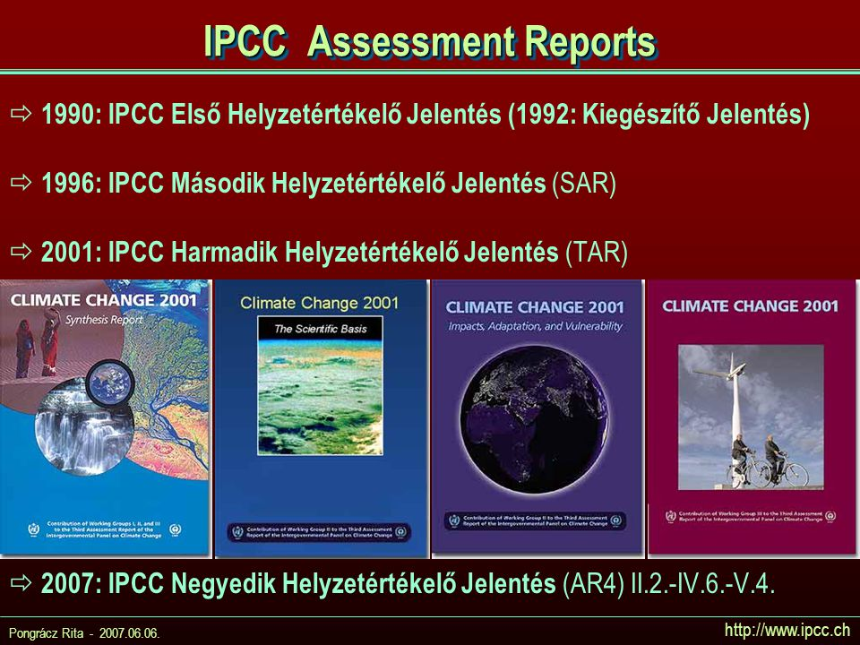IPCC Assessment Reports
