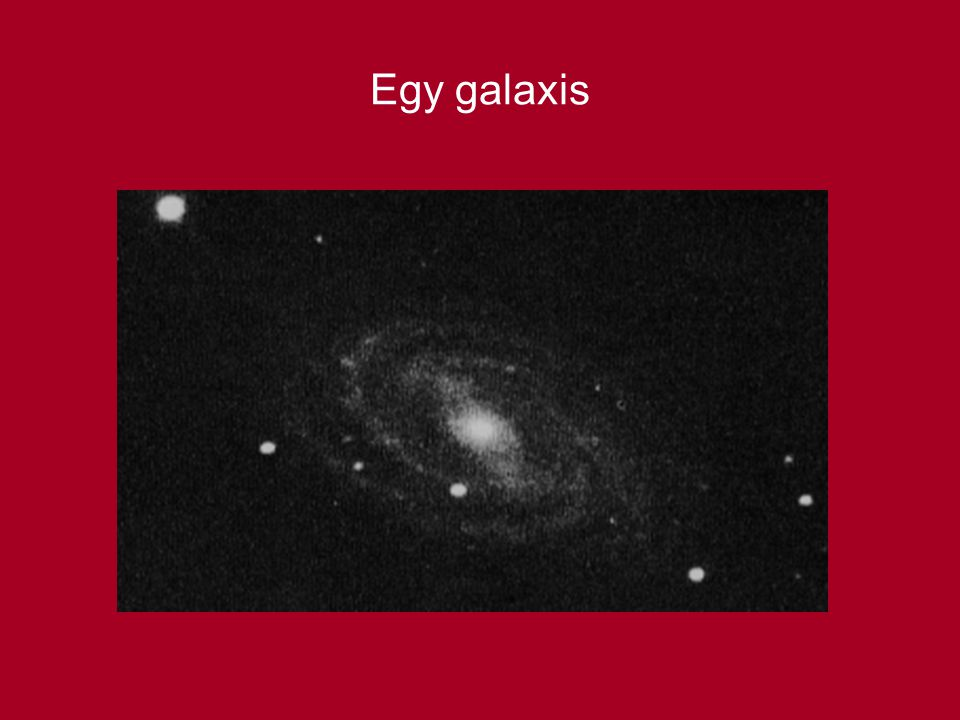 Egy galaxis