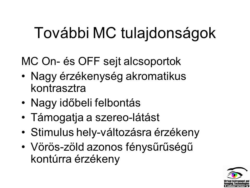További MC tulajdonságok