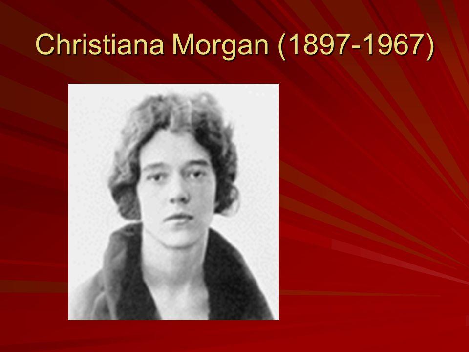 Christiana Morgan (1897-1967)