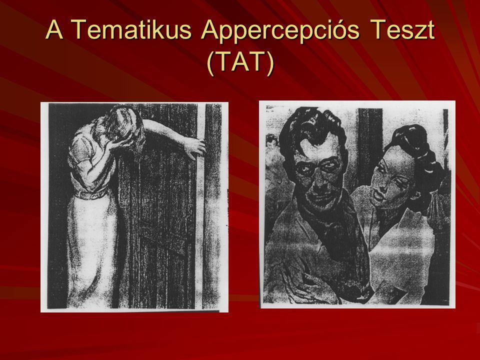 A Tematikus Appercepciós Teszt (TAT)