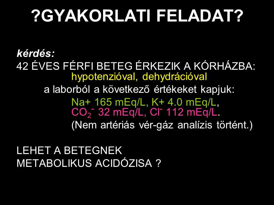 GYAKORLATI FELADAT kérdés: