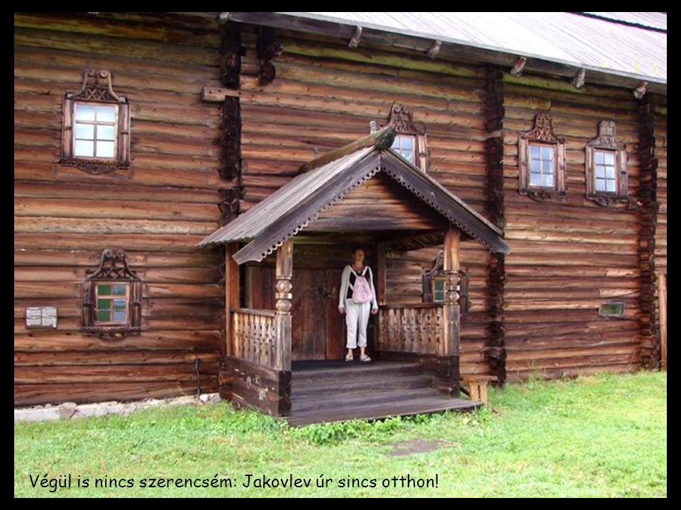 Végül is nincs szerencsém: Jakovlev úr sincs otthon!