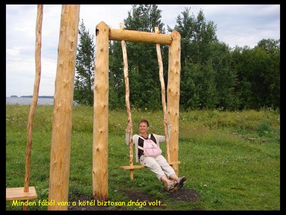 Minden fából van; a kötél biztosan drága volt...