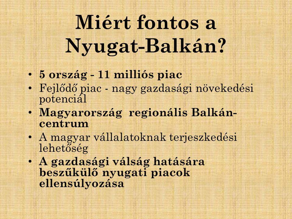 Miért fontos a Nyugat-Balkán