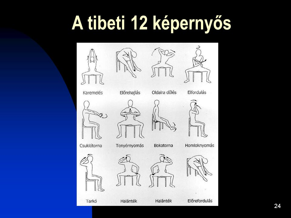 A tibeti 12 képernyős