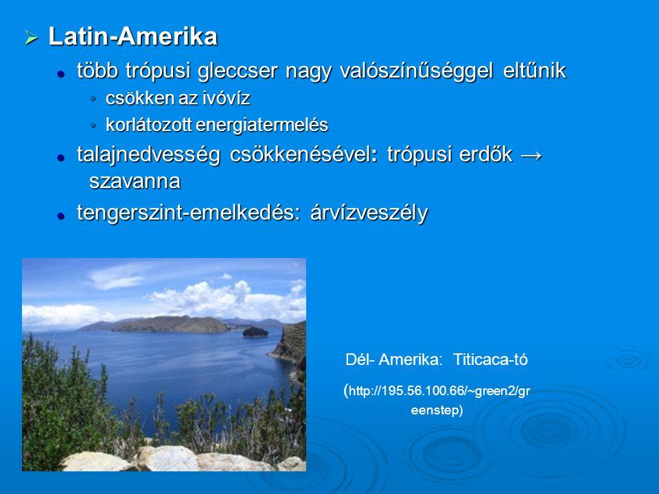 Dél- Amerika: Titicaca-tó