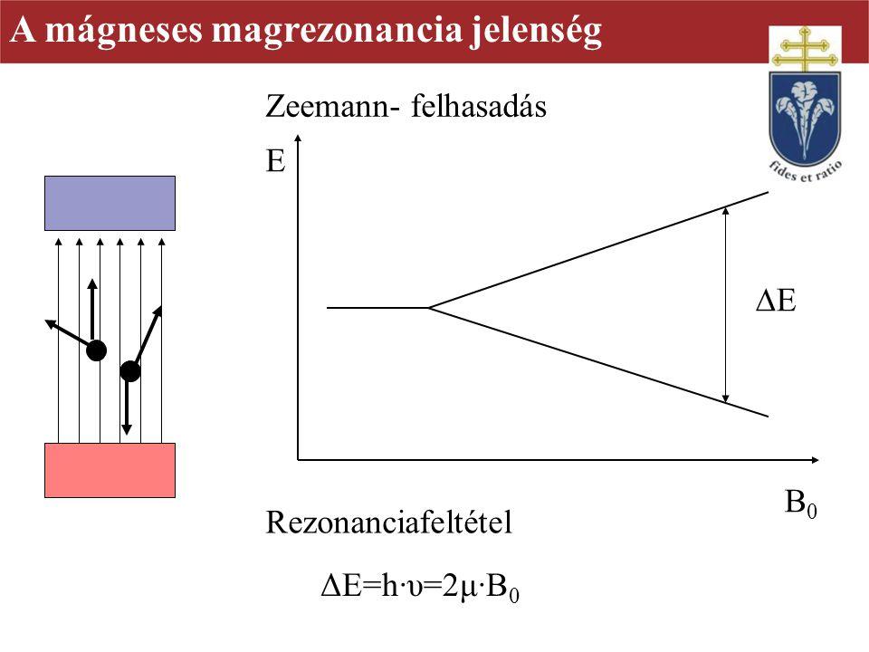 A mágneses magrezonancia jelenség