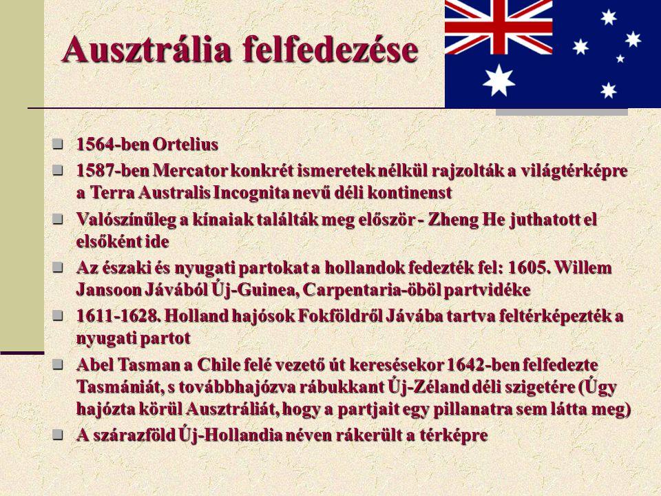 Ausztrália felfedezése