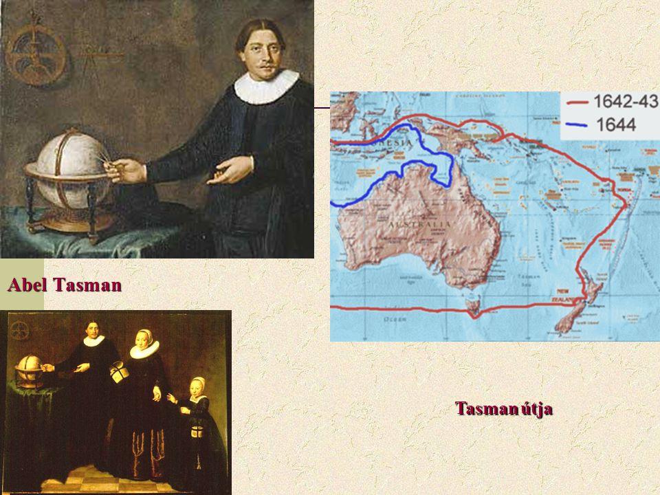 Abel Tasman Tasman útja