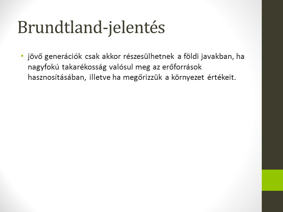 Brundtland-jelentés