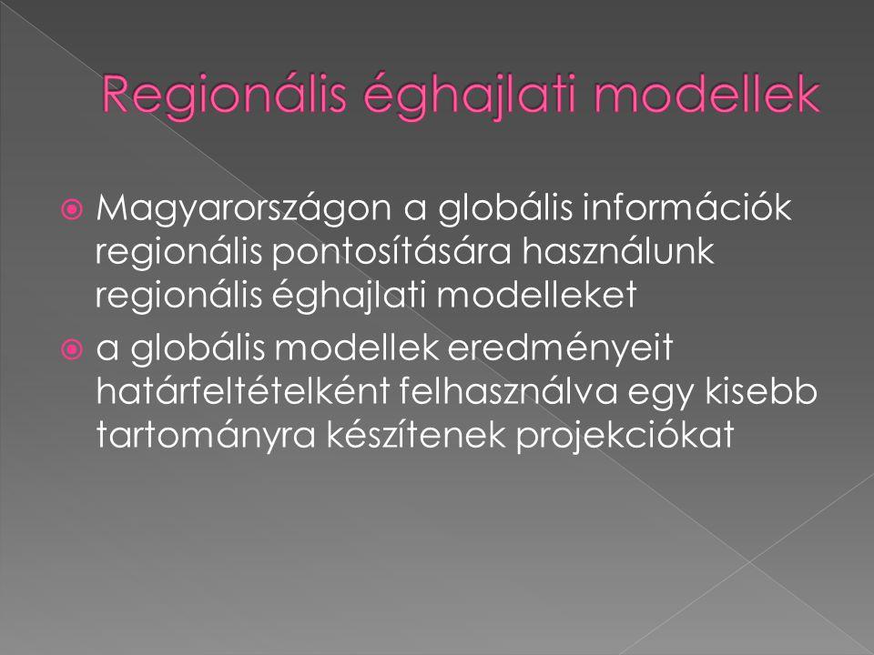 Regionális éghajlati modellek