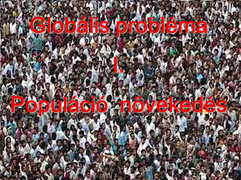Populáció növekedés 2012. október 1.