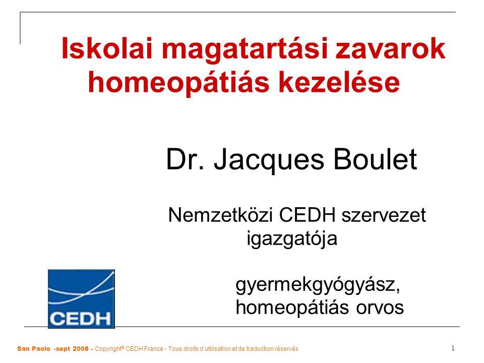 Iskolai magatartási zavarok homeopátiás kezelése