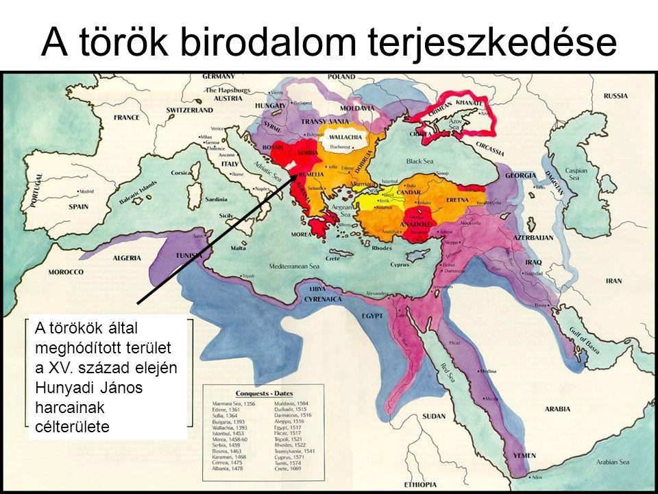 A török birodalom terjeszkedése