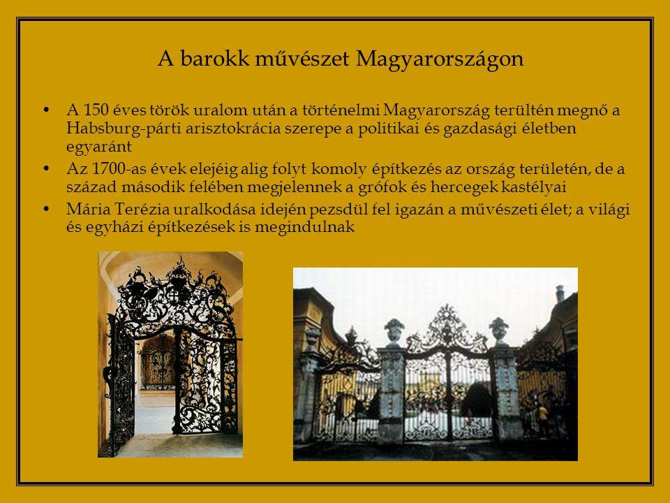 A barokk művészet Magyarországon