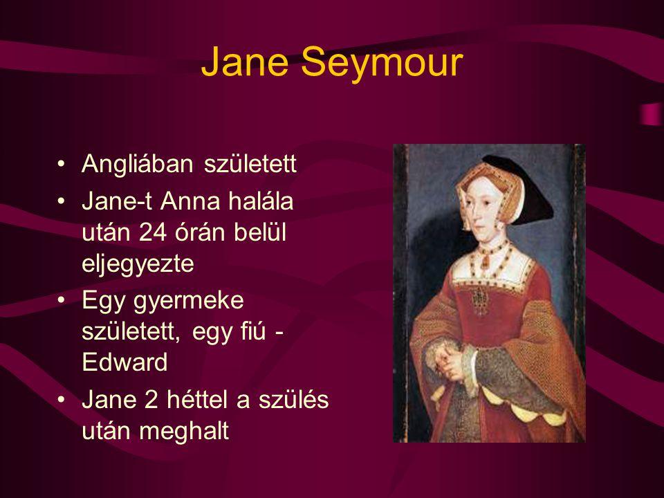 Jane Seymour Angliában született
