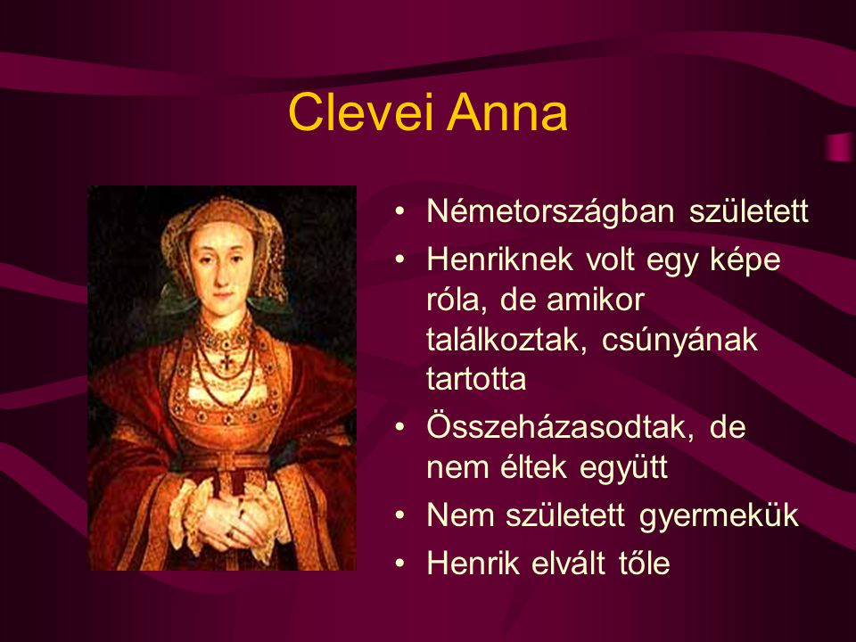 Clevei Anna Németországban született