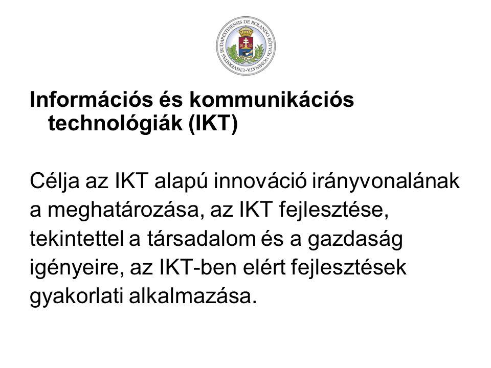 Információs és kommunikációs technológiák (IKT)