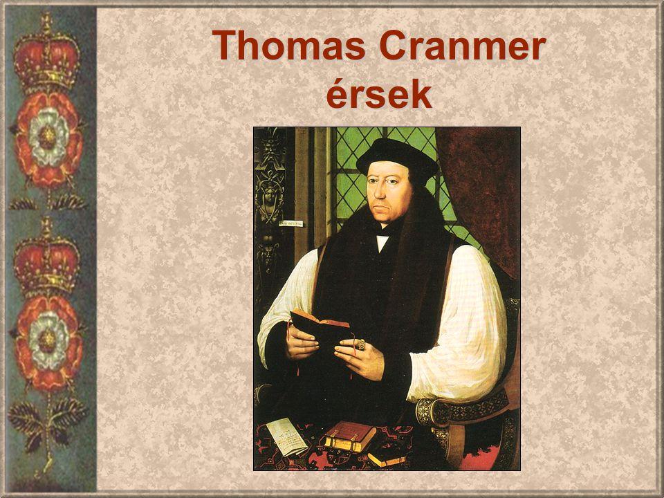 Thomas Cranmer érsek