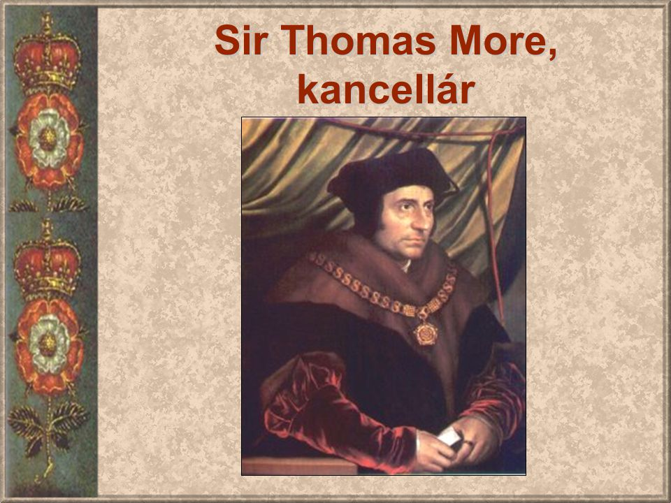 Sir Thomas More, kancellár