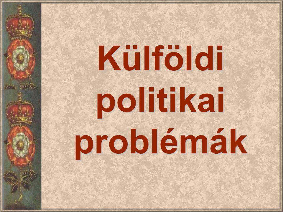 Külföldi politikai problémák