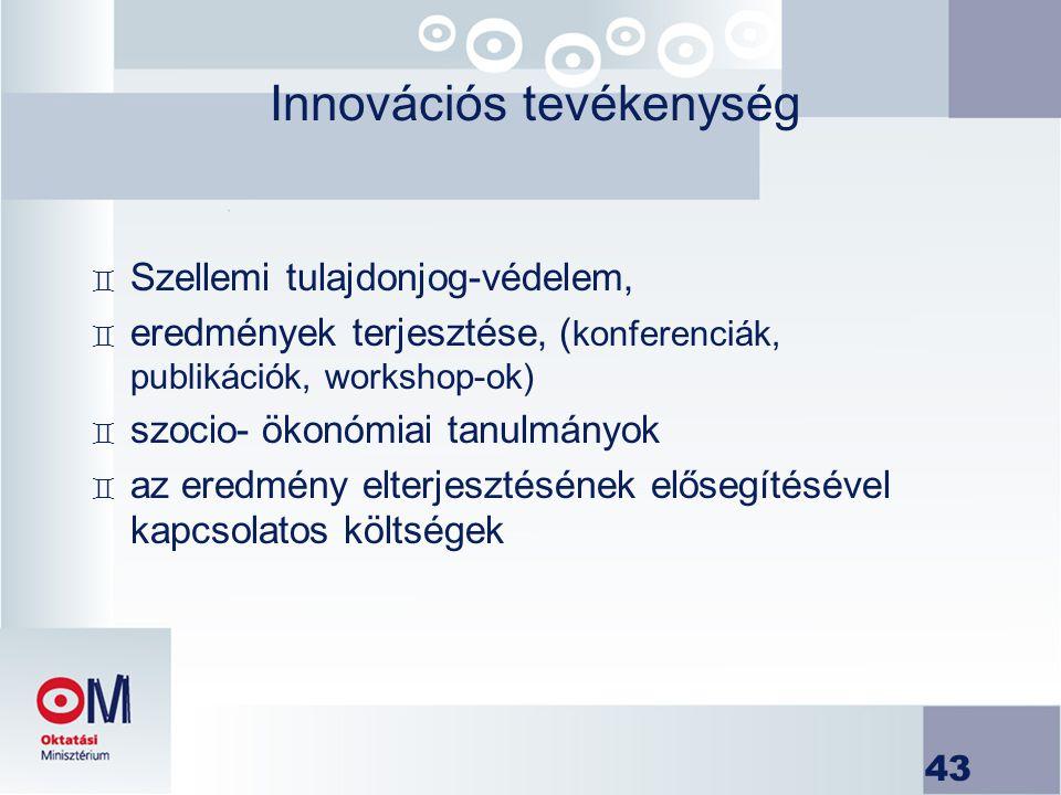 Innovációs tevékenység