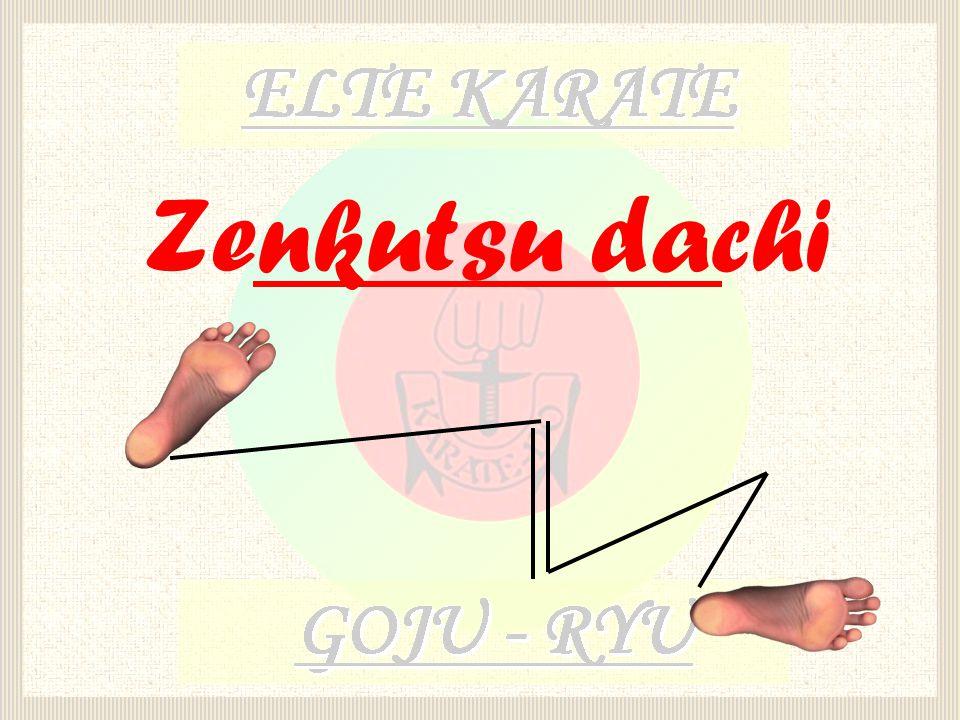Zenkutsu dachi