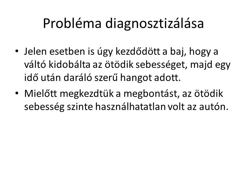 Probléma diagnosztizálása