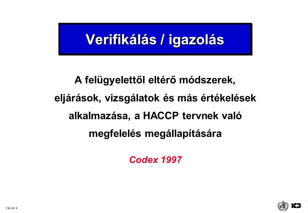 Verifikálás / igazolás