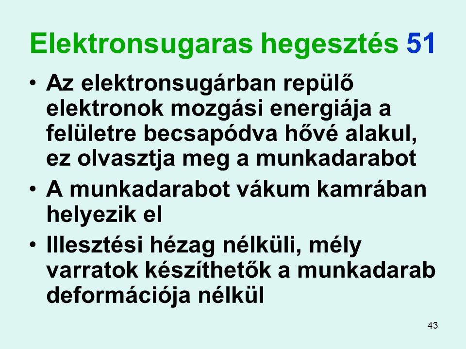 Elektronsugaras hegesztés 51