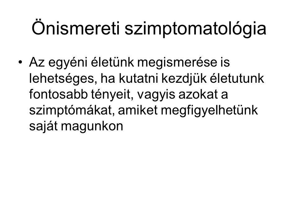 Önismereti szimptomatológia
