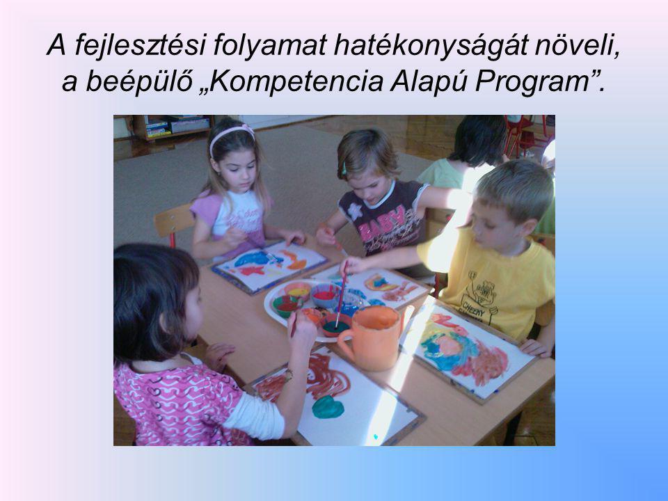 """A fejlesztési folyamat hatékonyságát növeli, a beépülő """"Kompetencia Alapú Program ."""