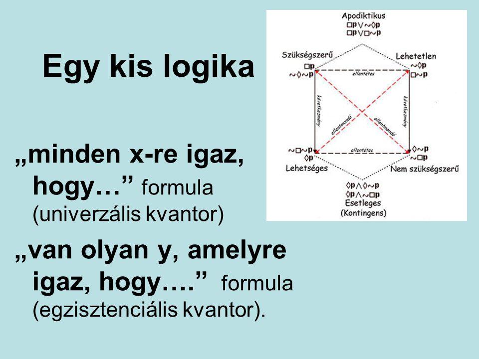"""Egy kis logika """"minden x-re igaz, hogy… formula (univerzális kvantor)"""