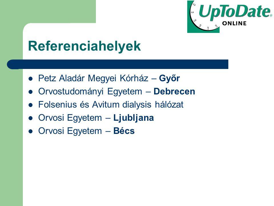 Referenciahelyek Petz Aladár Megyei Kórház – Győr