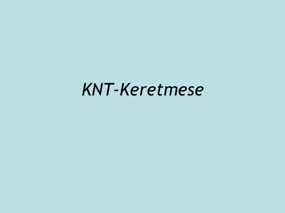 KNT-Keretmese