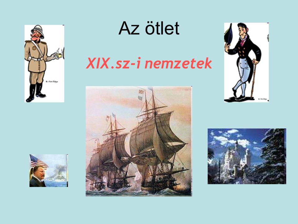 Az ötlet XIX.sz-i nemzetek