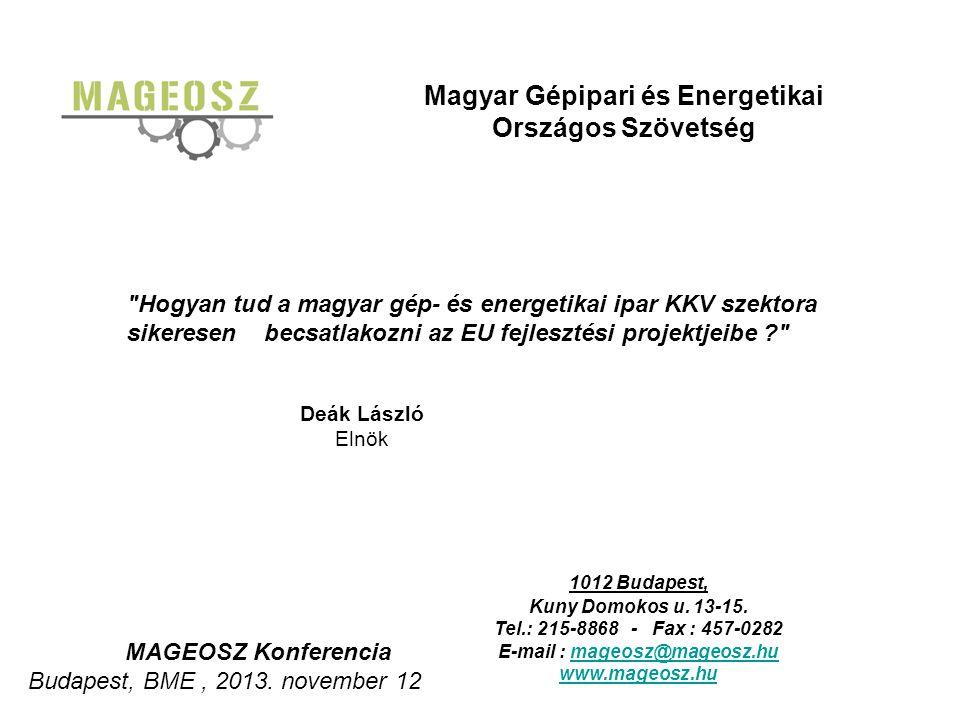 Magyar Gépipari és Energetikai Országos Szövetség