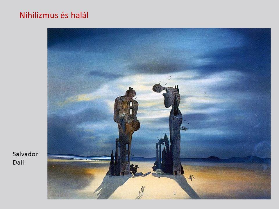Nihilizmus és halál Salvador Dalí