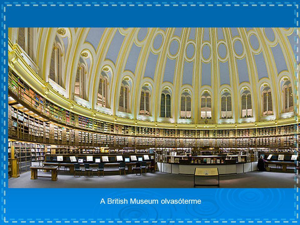 A British Museum olvasóterme
