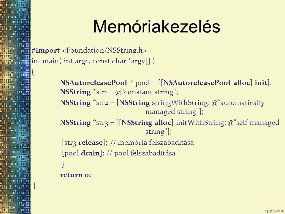 Memóriakezelés