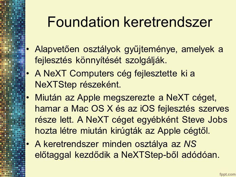 Foundation keretrendszer